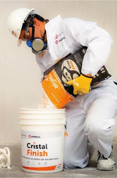 cristal finish mezcla