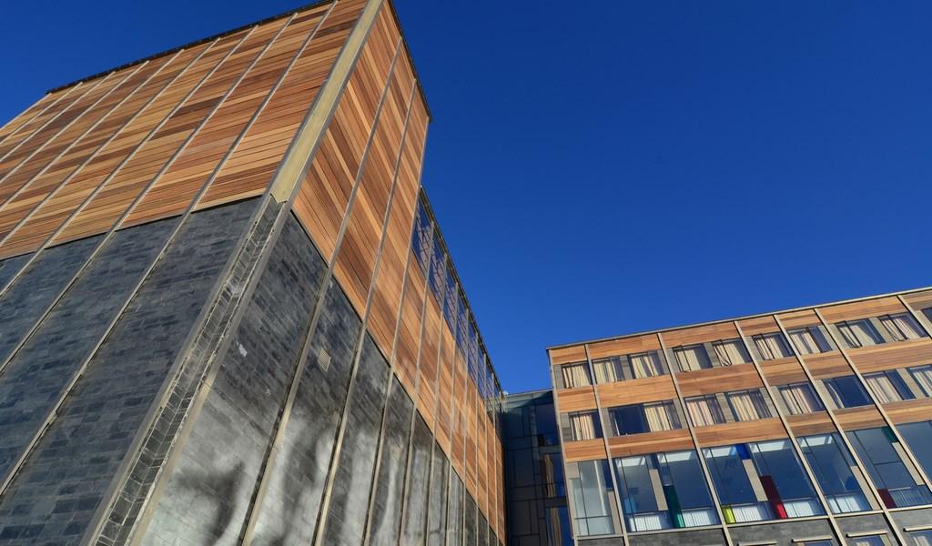 Colegio San Francisco Javier fachada pizarreño